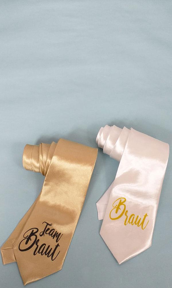 Damen-Krawatten für den Junggesellenabschied