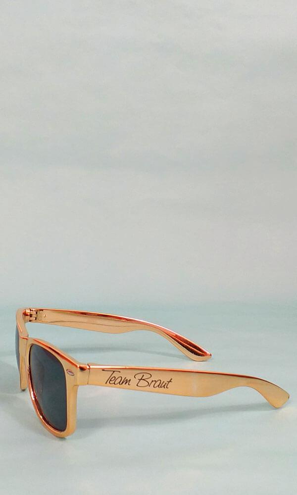 Team Braut-Sonnenbrille für den Junggesellinnenabschied