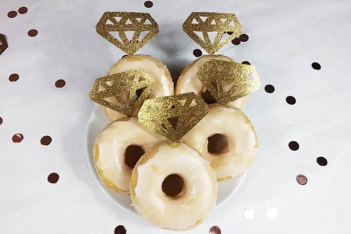 Bridal Shower DIY Deko - Donutpicker selber machen