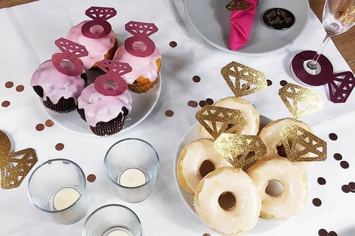 Junggesellenabschied DIY Deko - Food-Picker selber machen