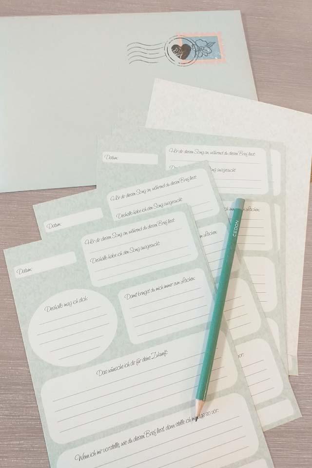 JGA-Geschenkidee: Briefe an die Braut
