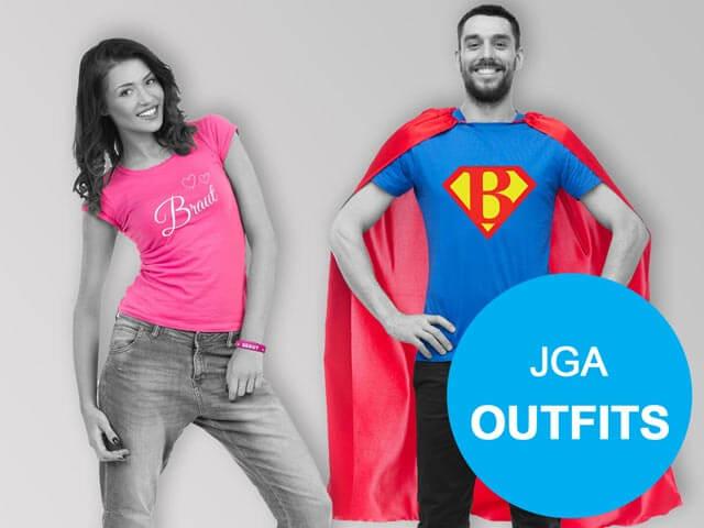 Junggesellenabschied - Outfits für Frauen und Männer