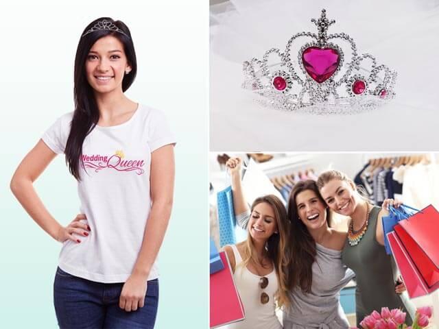 Wedding Queen - Motto-Idee für den Junggesellinnenabschied