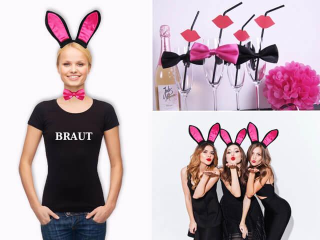 Braut Bunnys - Motto für den JGA