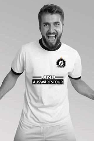 JGA Männer-Shirt - Letzte Auswärtstour - Weiss