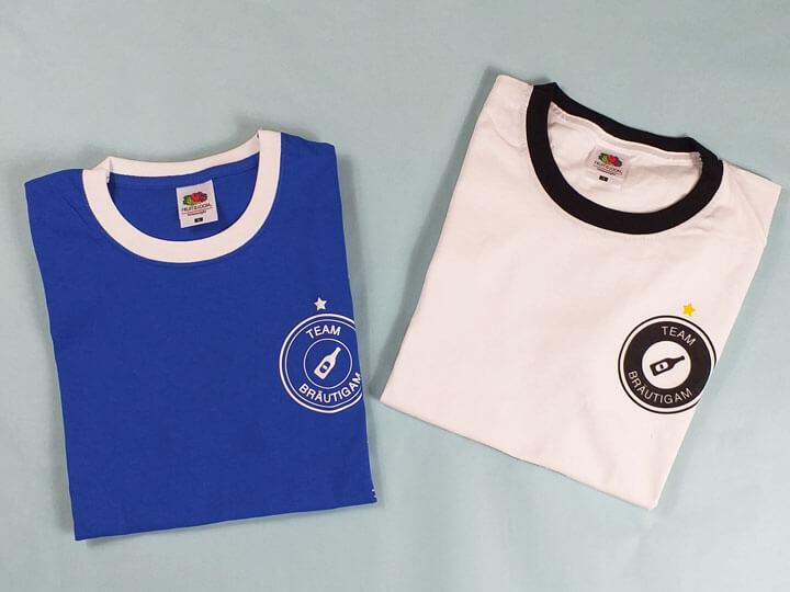 Letzte Auswärtstour-T-Shirts für den Männer-JGA