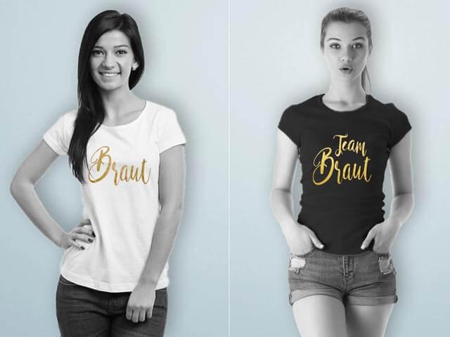 Junggesellinnenabschied - T-Shirts für Damen