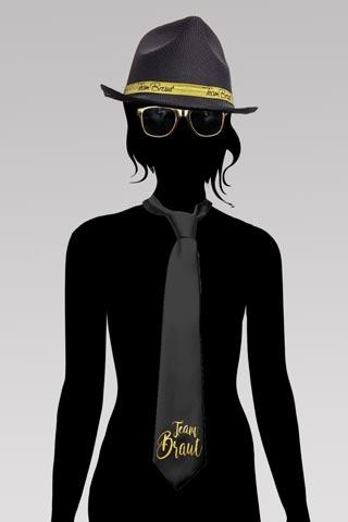 Team Braut - JGA Glamour Outfit in Gold und Schwarz