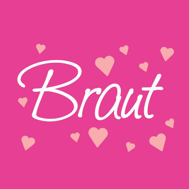 JGA-Motiv: Classic Hearts - Braut