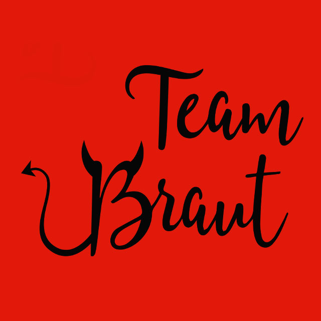 JGA-Motiv Teuel - Team Braut