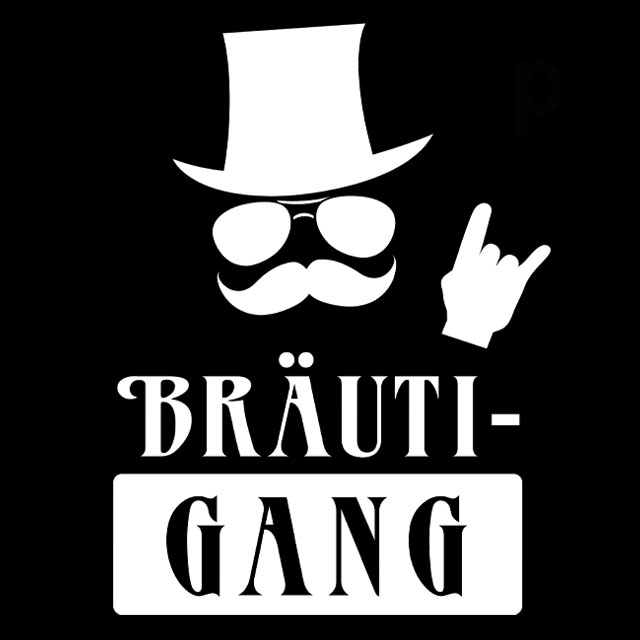 BräutiGang - JGA-Shirt-Spruch für Männer