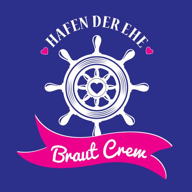 Braut Crew - JGA-Shirt-Spruch für Frauen