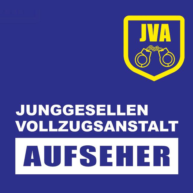 JVA Aufseher - JGA-Shirt-Spruch für Männer