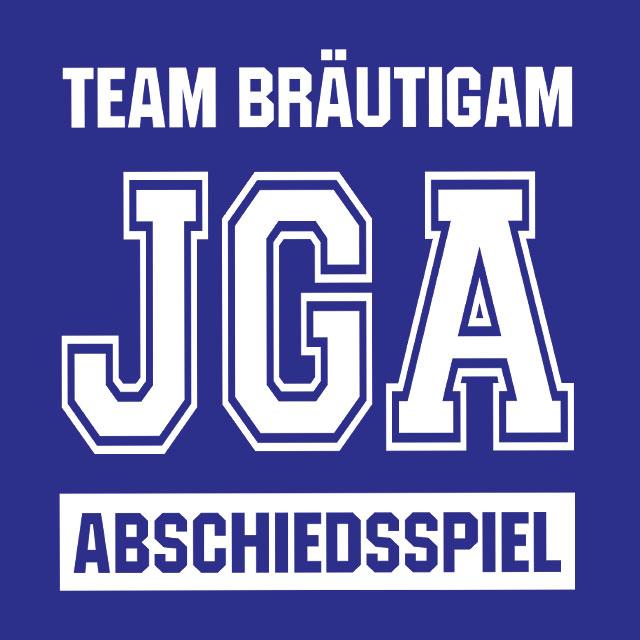Abschiedsspiel - JGA-Shirt-Spruch für Männer
