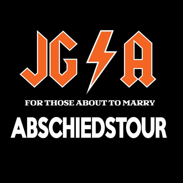 Abschiedstour - JGA-Shirt-Spruch für Männer