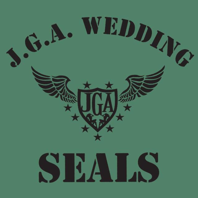 Wedding Seals - JGA-Shirt-Spruch für Männer