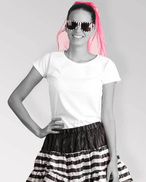 Junggesellenabschied - Damen-Kostüme im Sträfling-Design