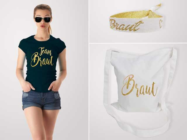 Gold und Glamour - JGA Damen Outfits