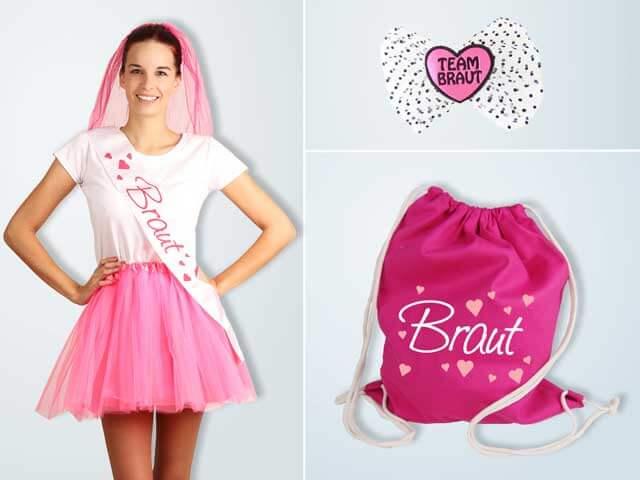 Herzen - JGA Damen Outfits