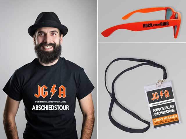 Hard Rock - JGA Outfits für Männer