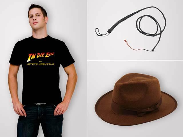 Junggesellen-Transport - JGA Outfits für Männer