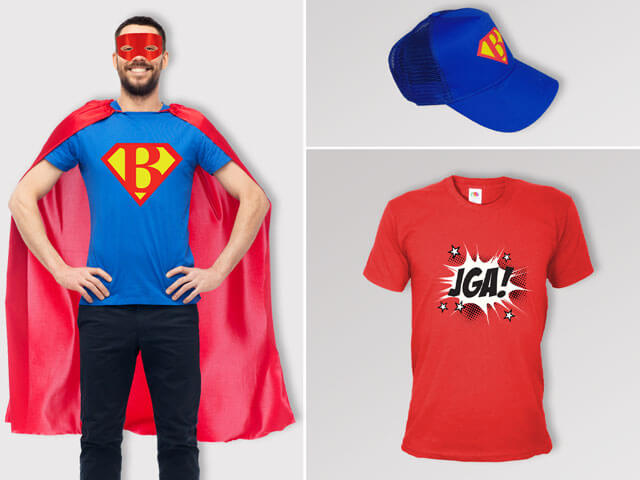 Superhelden - JGA Outfits für Männer