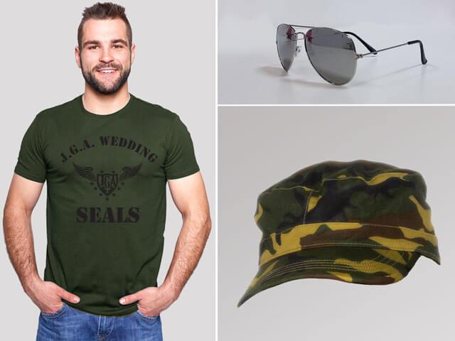 Wedding Seals - JGA Outfits für Männer