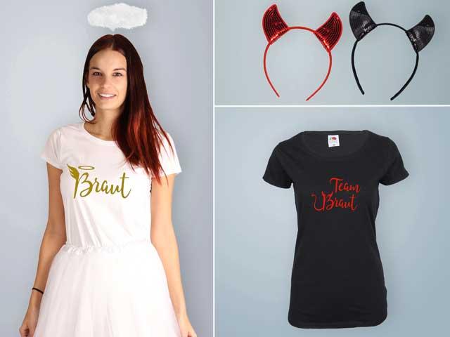 JGA - Engel und Teufel Outfits