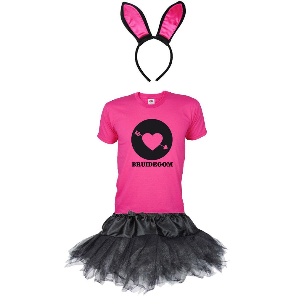 Bruidegom Bunny - vrijgezellenfeest pak voor mannen