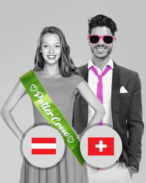 Outfits für den Polterabend in Österreich und Schweiz